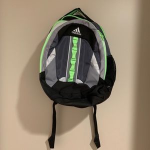 Adidas Load Spring Laptop Backpack-Green